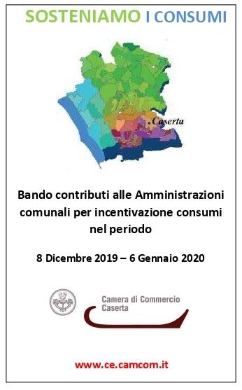 CCIAA CE: NATALE 2019 SOSTENIAMO I CONSUMI