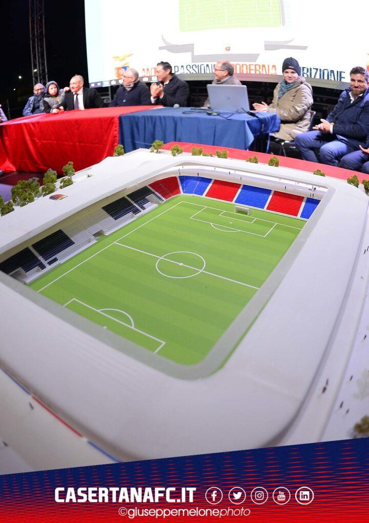 Ecco come sarà il nuovo stadio della Casertana
