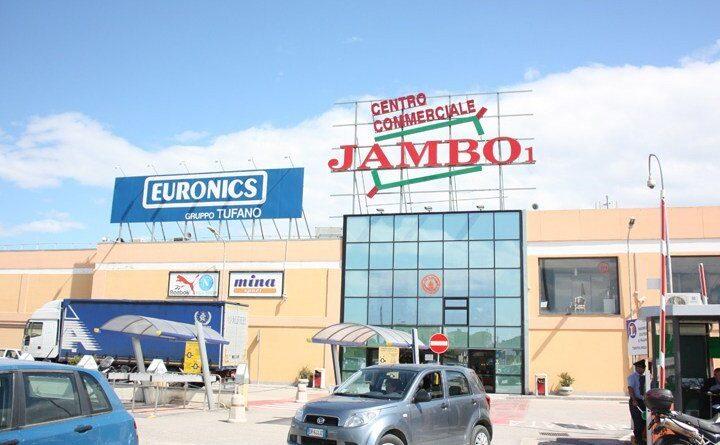 Centro commerciale Jambo, da 3 anni senza un'uscita di emergenza: scatta la denuncia ai vigili del fuoco