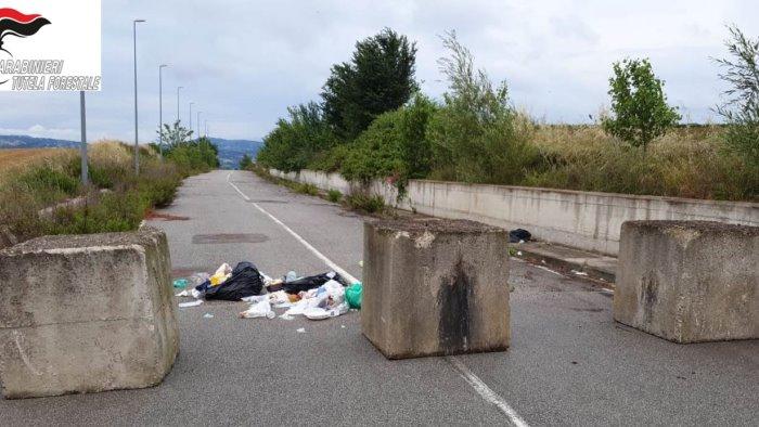 Zona Asi: sequestrate 6 tonnellate di rifiuti speciali
